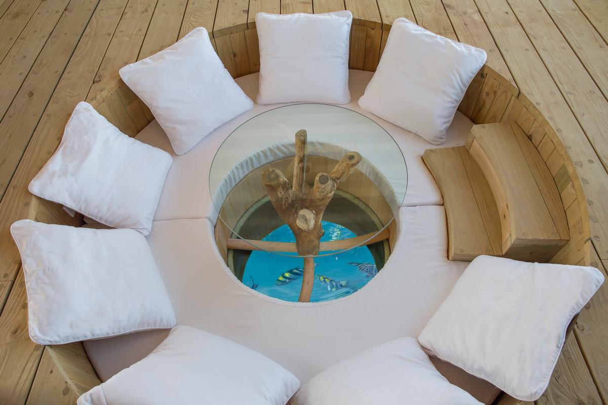 Retractable Roofs At Maldives Resort Let Guests Sleep