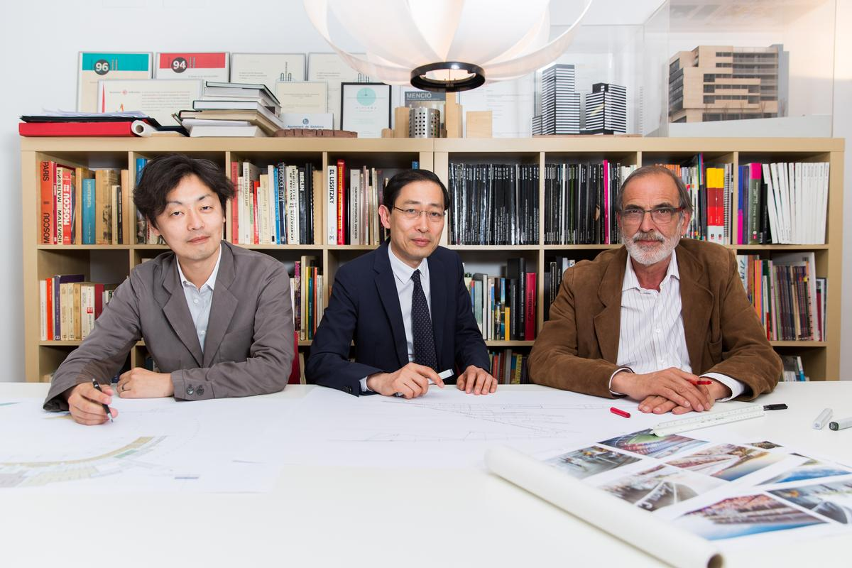 Japanese practice Nikken Sekkei and Catalan firm Joan Pascual – Ramon Ausio Arquitectes are masterminding the design of the new ground / FC Barcelona