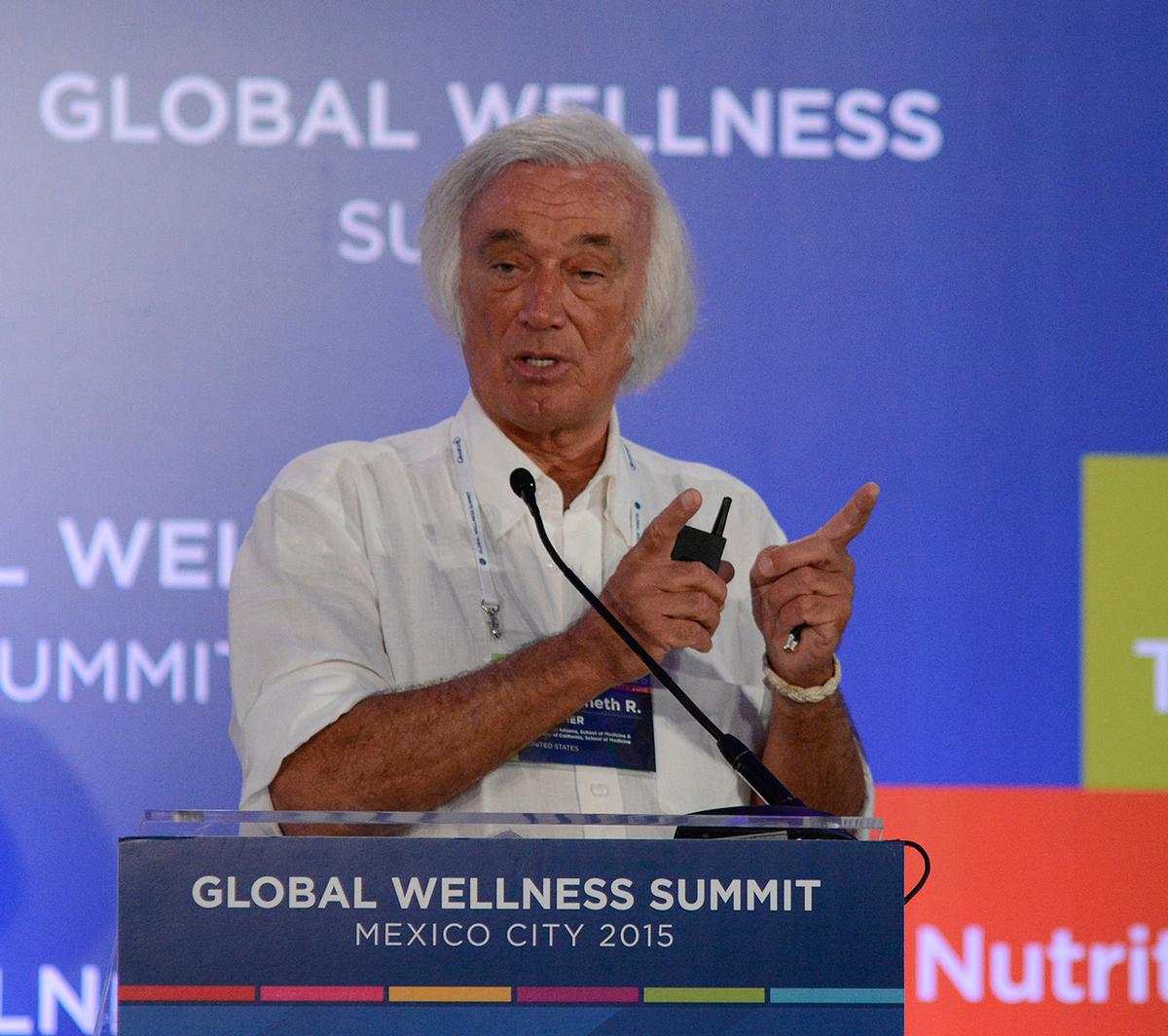 Pelletier said a study to be published next month will show that companies with corporate wellness schemes generate a 200 per cent greater return for shareholders / Global Wellness Summit