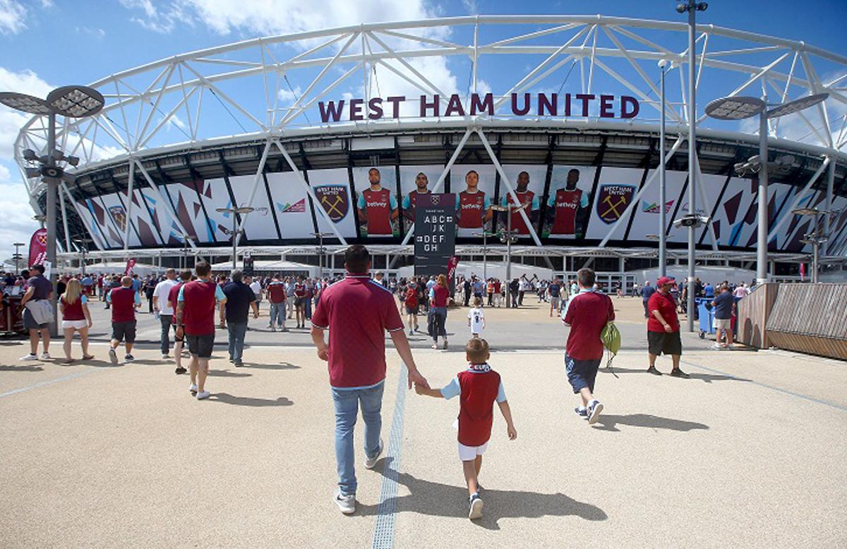 The 2016/17 season is West Ham's inaugural year playing at the Olympic Stadium