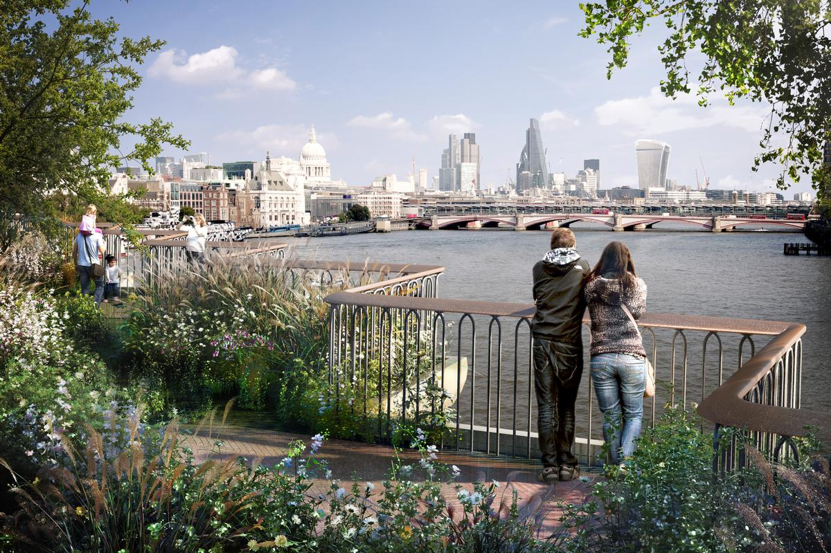 Heatherwick said all sides must 'hold their nerve' and see the project through / Garden Bridge Trust