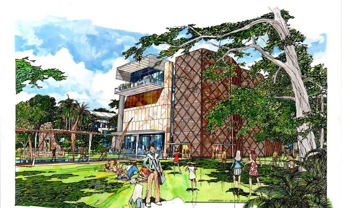 The A$18.5m (US$13.5m, €12.3m, £8.9m) plans feature the redevelopment of the existing Harry Chan building