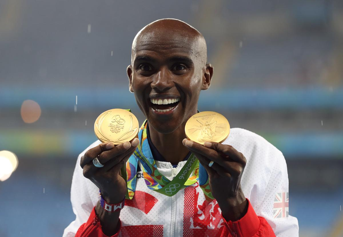 Mo Farah's two gold medals contributed to the overall haul of 67 /  Martin Rickett/PA Wire/Press Association Images