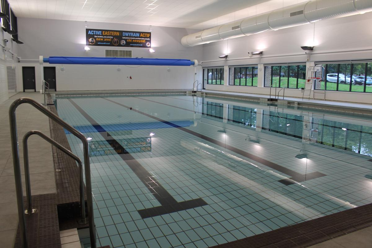 Eastern Leisure Centre is one of eight Cardiff centres now managed by GLL