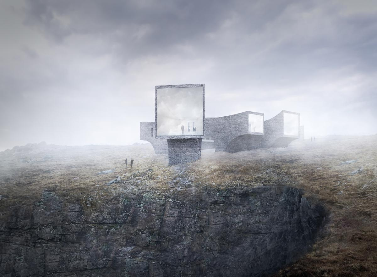 Scottish studio Dualchas Architects and Norway's Reiulf Ramstad Architects have collaborated on the design masterplan for the St Kilda visitor centre / Dualchas / RRA