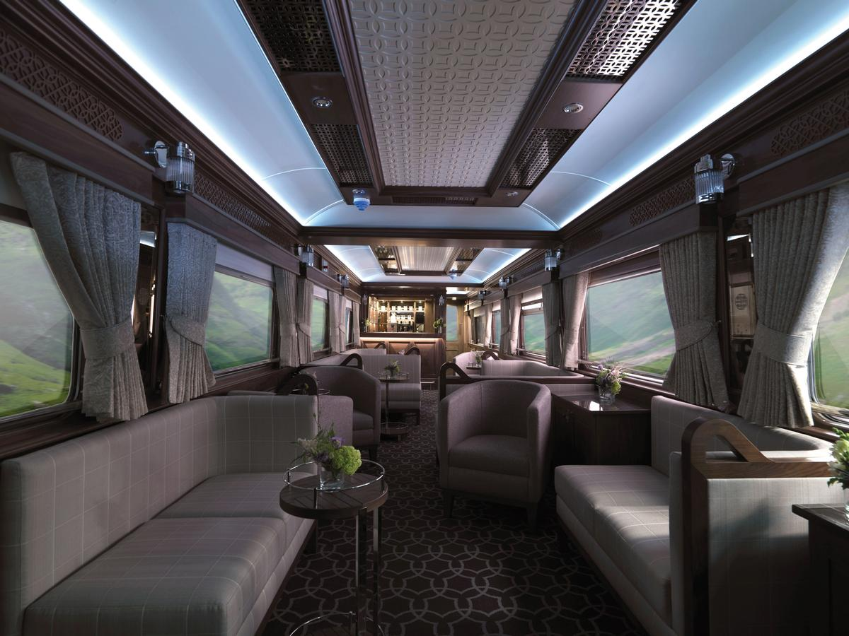The Belmond Grand Hibernian will transport guests for journeys of at least three days across the Republic of Ireland and Northern Ireland / Belmond