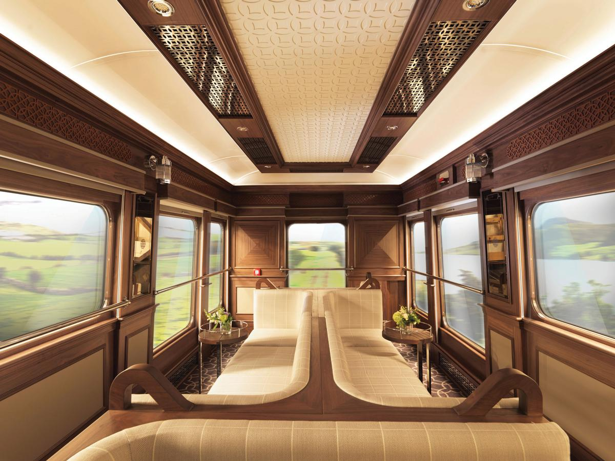 Belmond operate luxury trains and cruise ships around the world / Belmond