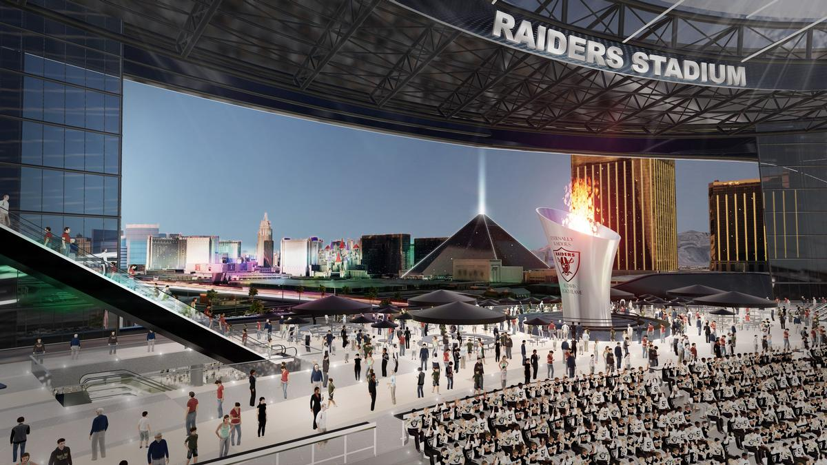 The stadium would attract many more tourists to Las Vegas, according to the developers / MANICA Architecture