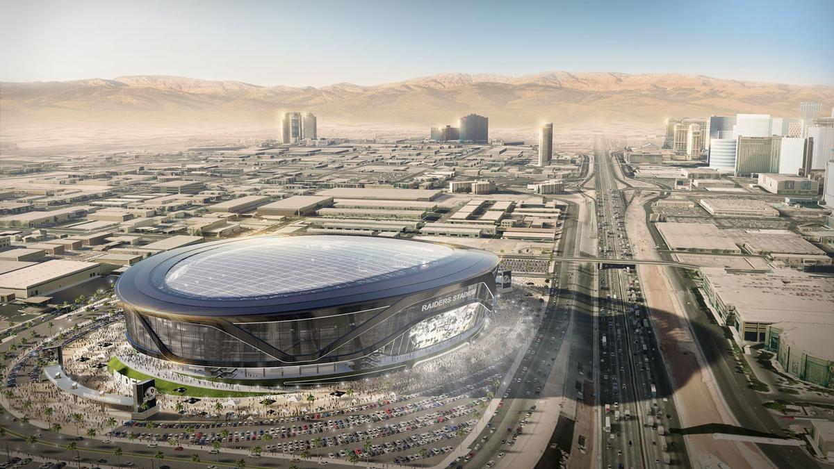 The new-look design has added a roof to the stadium / MANICA Architecture