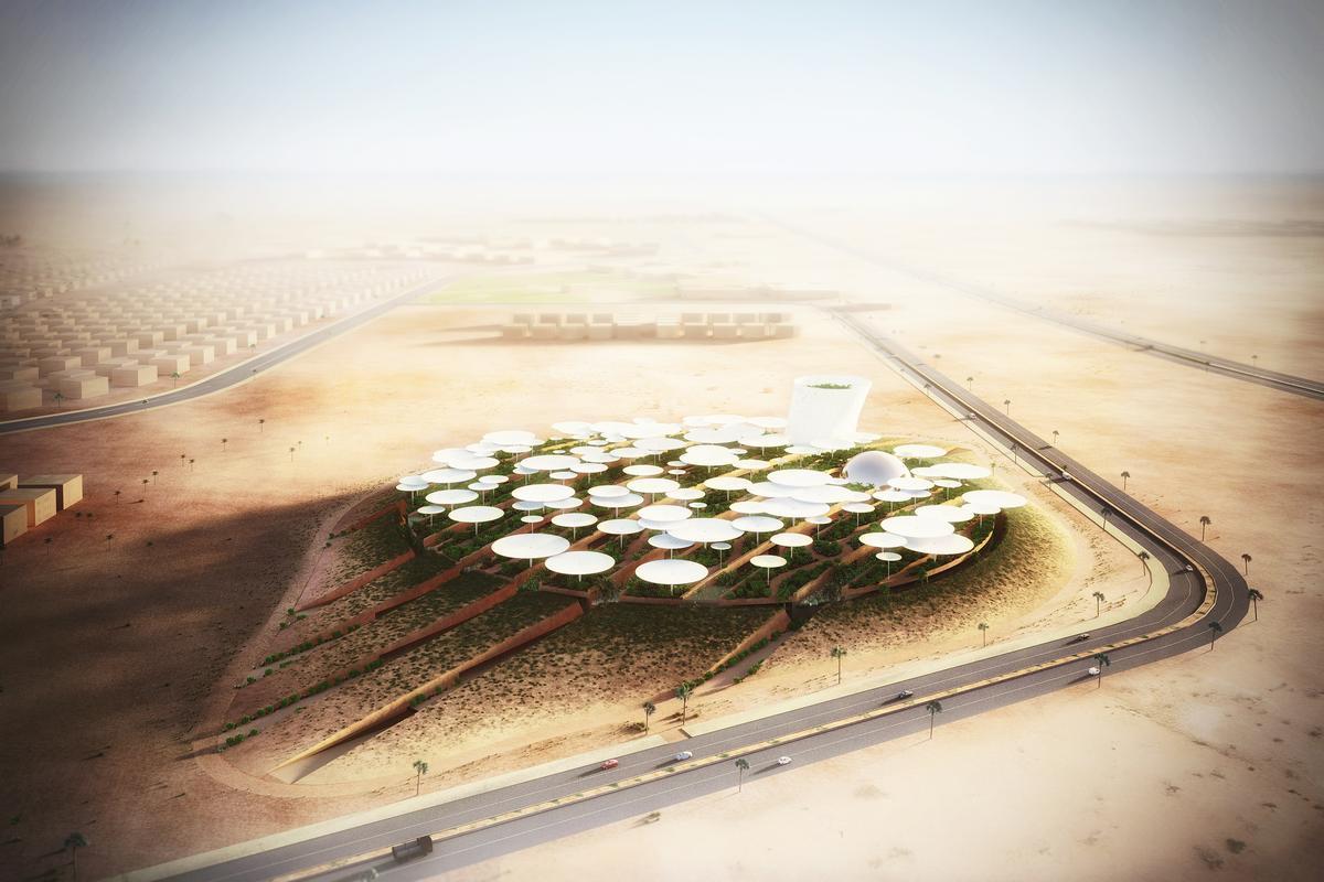 The winning design by Weston Williamson + Partners / WW+P