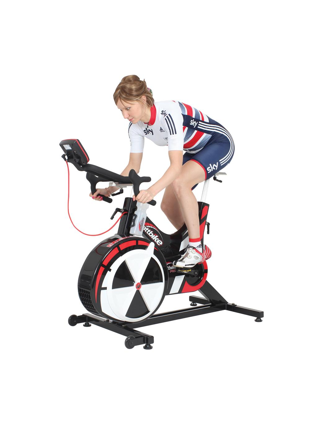 Wattbike ambassador and Olympic and double World Track Cycling champion Joanna Rowsell