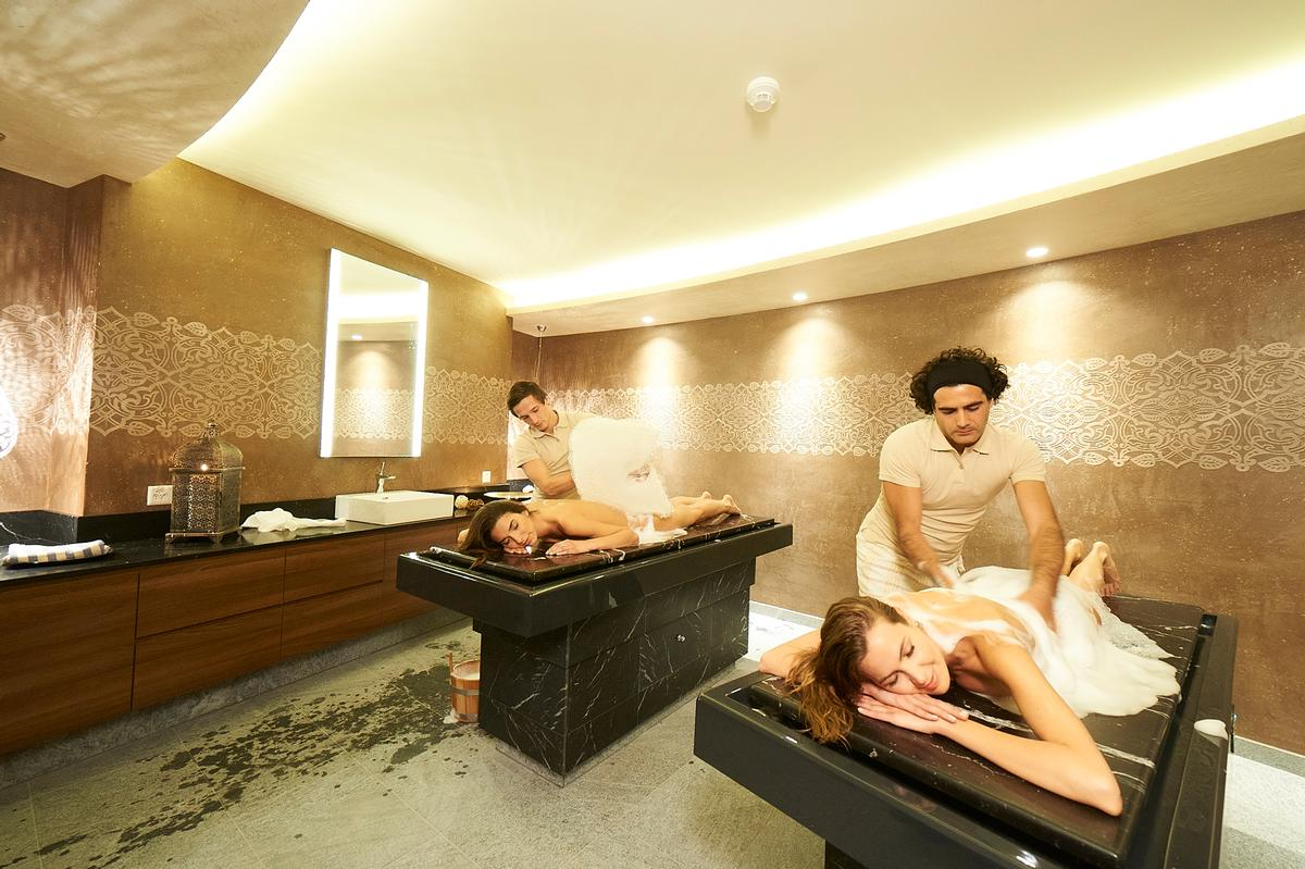 The hammam will feature a sogukluk steam bath binguil for Spa uniform europe