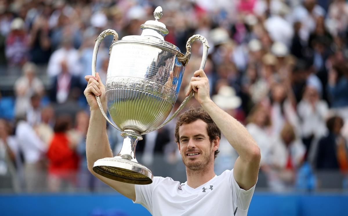 Andy Murray won this year's championship shortly before emerging from Wimbledon triumphant  / Steve Paston/PA Wire/Press Association Images