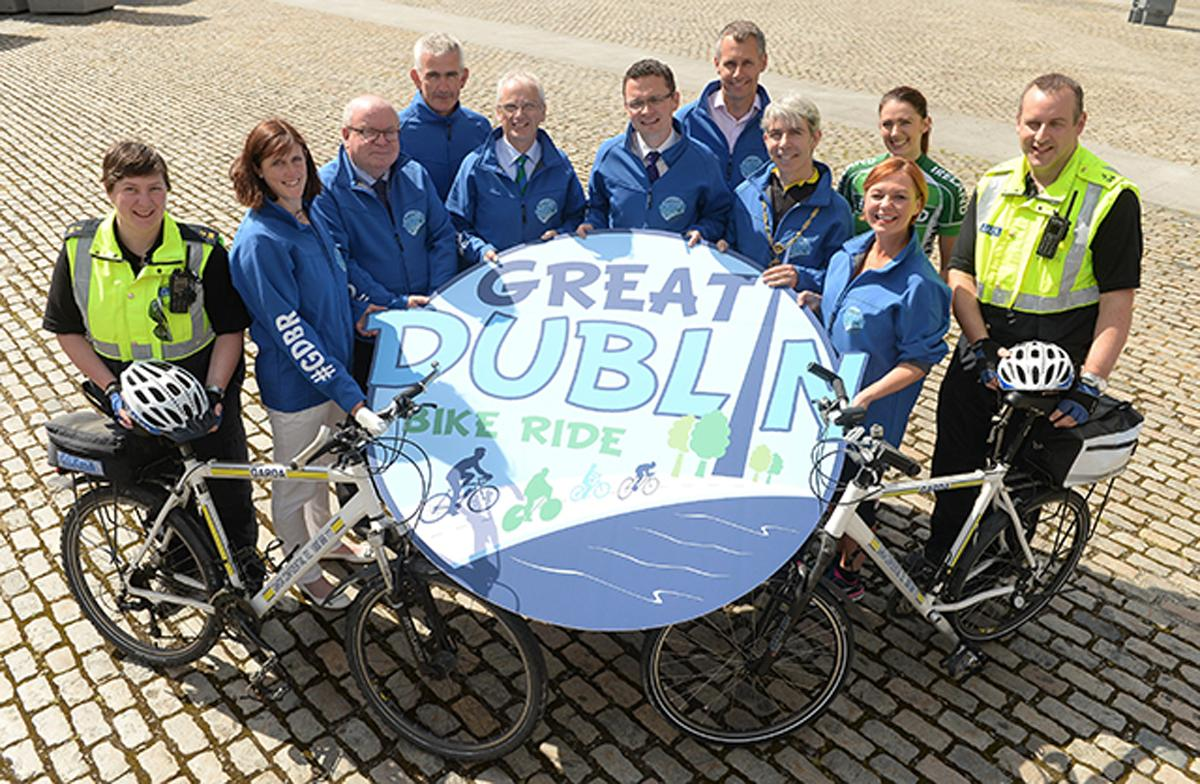 The Great Dublin Bike Ride is one of a number of events taking place