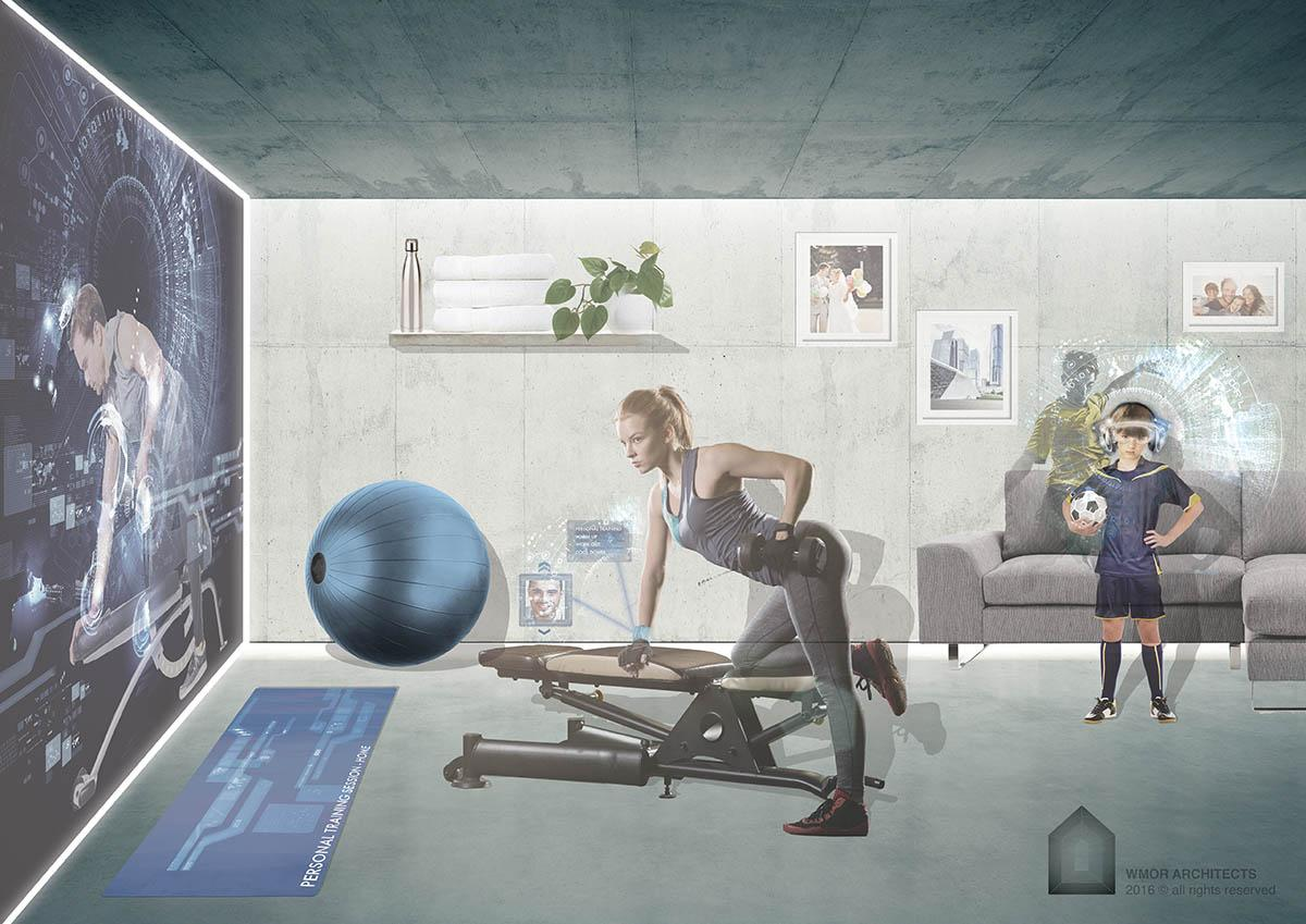 Technological advances could bring virtual fitness into living rooms – and allow the tracking of progress and vital statistics via wearables