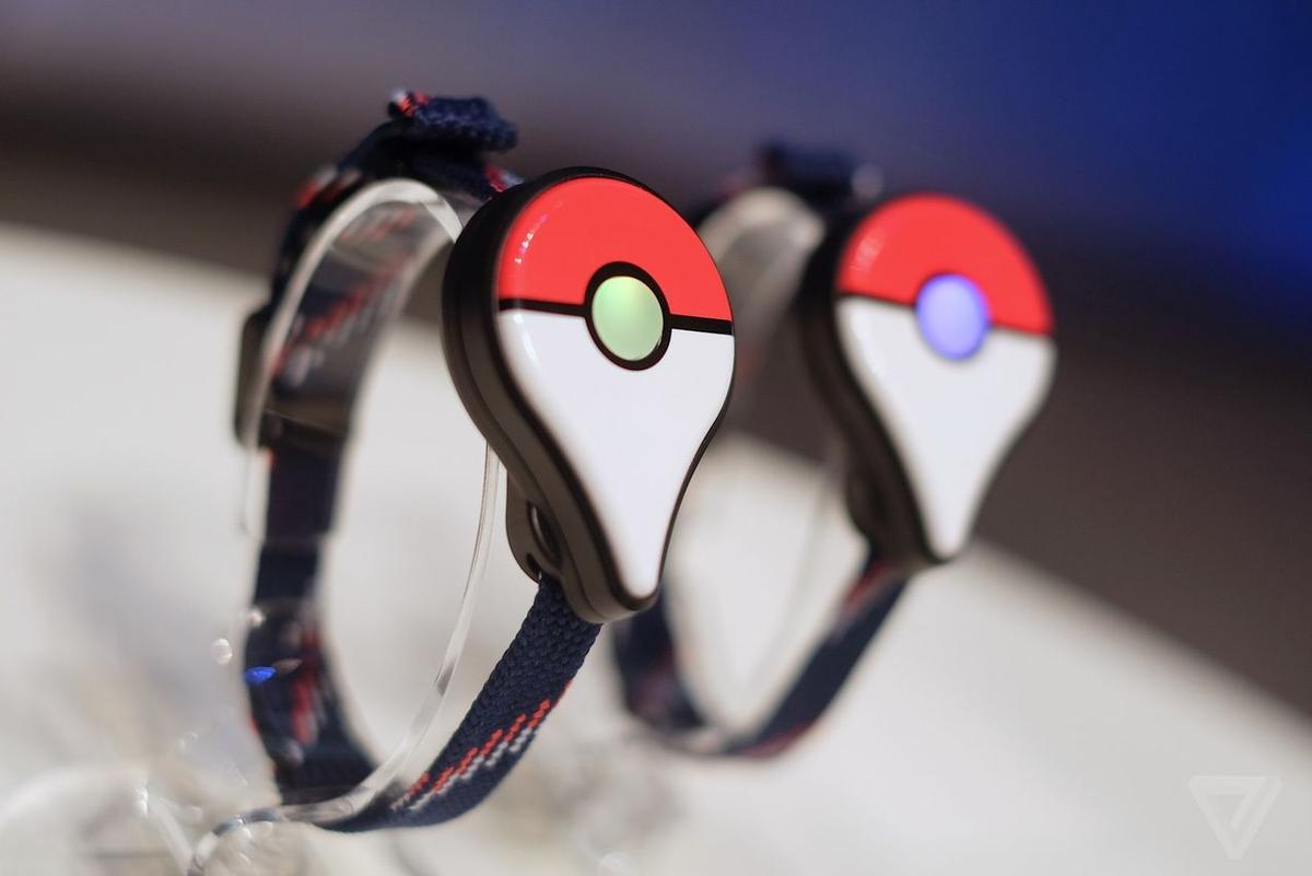 Connected via Bluetooth, the companion device will allow players to collect resources from Pokéstops and catch Pokémon on the go / Niantic