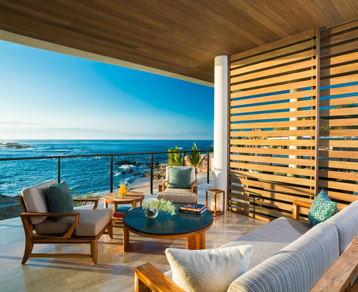 The 60-bedroom resort will also include a centerpiece, three-tiered, infinity pool, as well as 32 two-, three- and four-bedroom villas