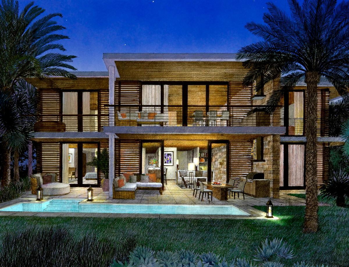 """The resort is set in the 1,200-acre community of Chileno Bay, and offers a """"modern active and outgoing spirit in its design and lifestyle,"""" the company said"""