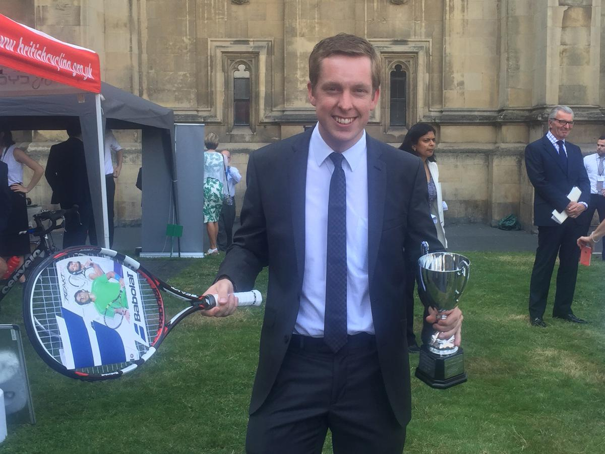 Pursglove is the vice-chair of the APPG for Sport