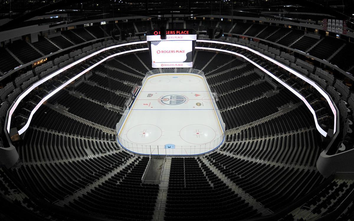 The first sporting fixtures will be held in the arena in October / Marko Ditkun/Edmonton Oilers