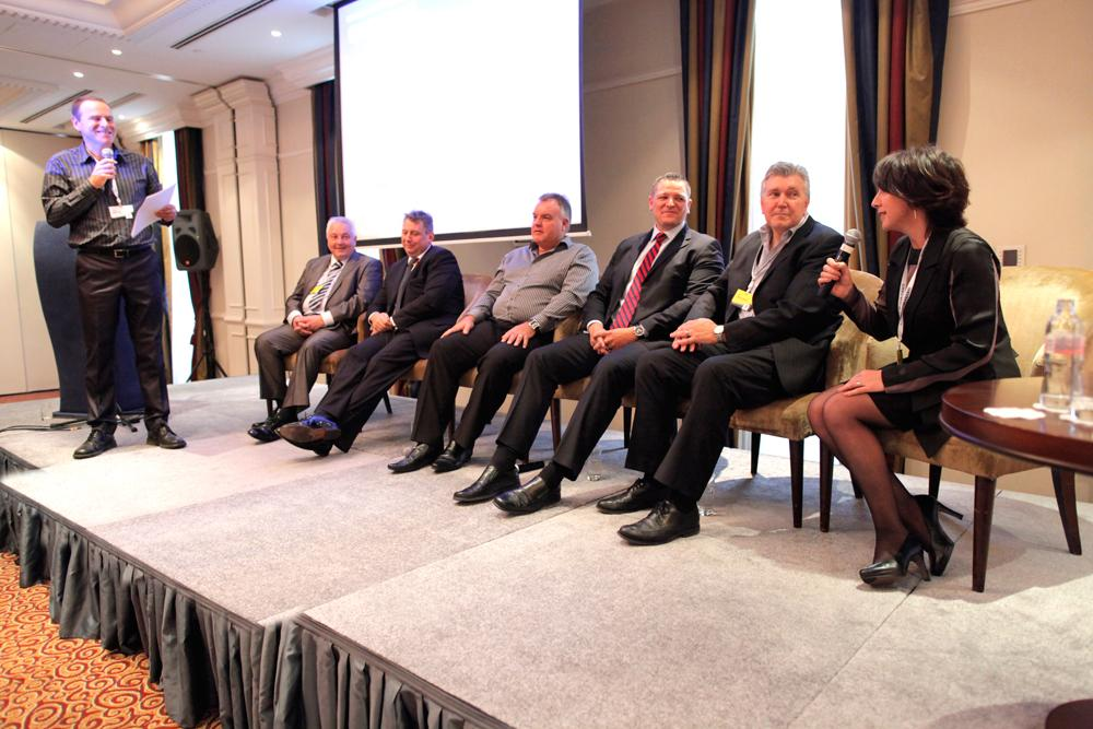 Panellists, Martin Kay, David Stalker, John Treharne, Mark Botha, Mark Lemmon, Liz Holmes