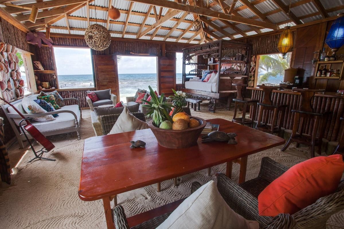 The island can accommodate up to 12 people / The Family Coppola