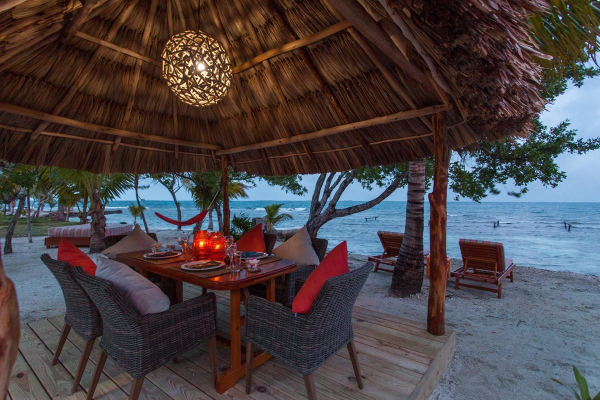 Visitors are encouraged to relax on the beach / The Family Coppola