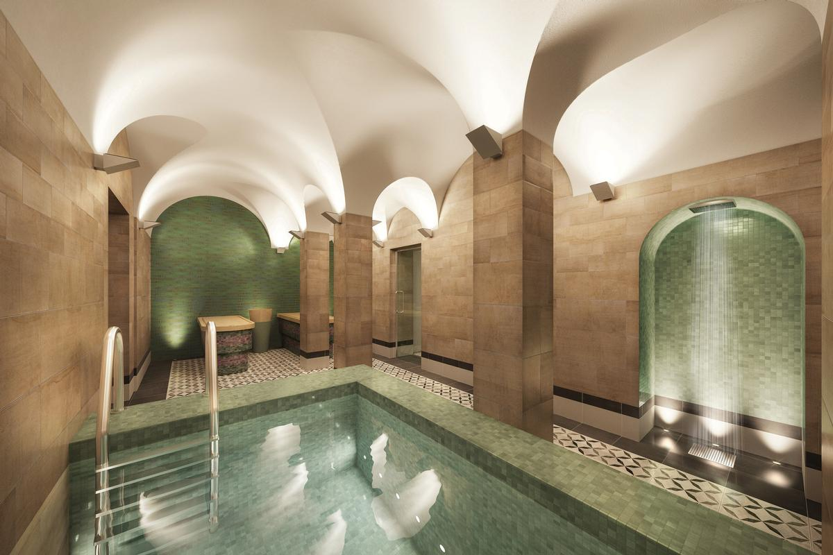 The facility will have a Turkish bath, pool and wellbeing areas / Fusion Lifestyle