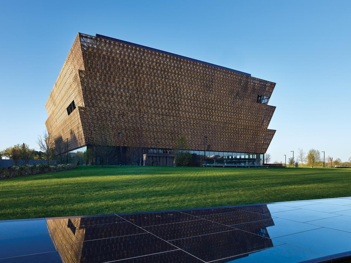 Adjaye said: 'I can't wait to see the museum once it has opened, to see how people respond to the space' / Alan Karchmer/NMAAHC