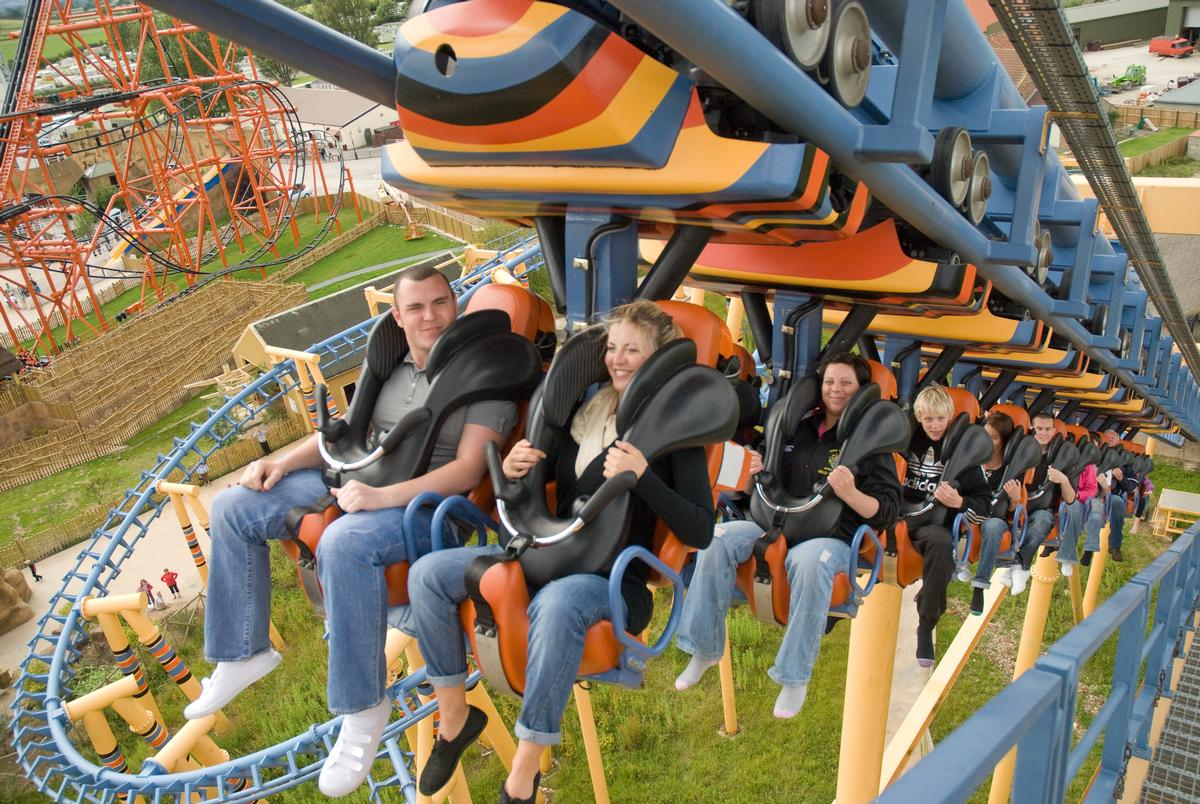 Flamingo Land's theme park and resort in North Yorkshire welcomes more than 1.5 million visitors a year / Visit Yorkshire