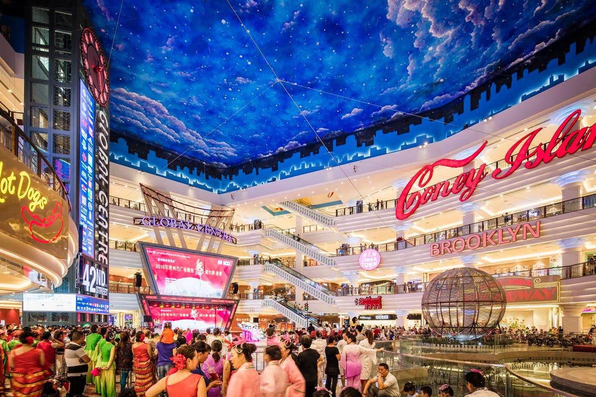Jiangnan Global Harbor is one of the largest new retail centres in the world / Chapman Taylor