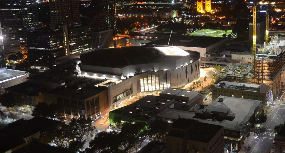 The Golden 1 Center will host its first NBA preseason fixture on 10 October / Golden 1 Center