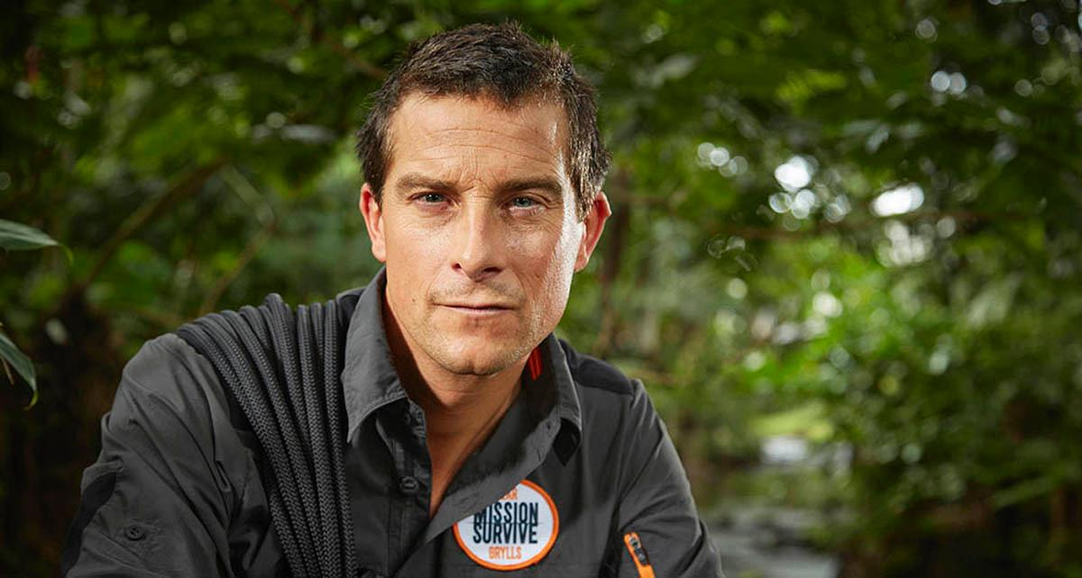 Grylls said the course is about moving 'with speed, agility, balance and strength'