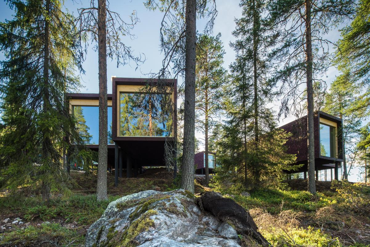 Arctic TreeHouse Hotel development has been designed by Studio Puisto