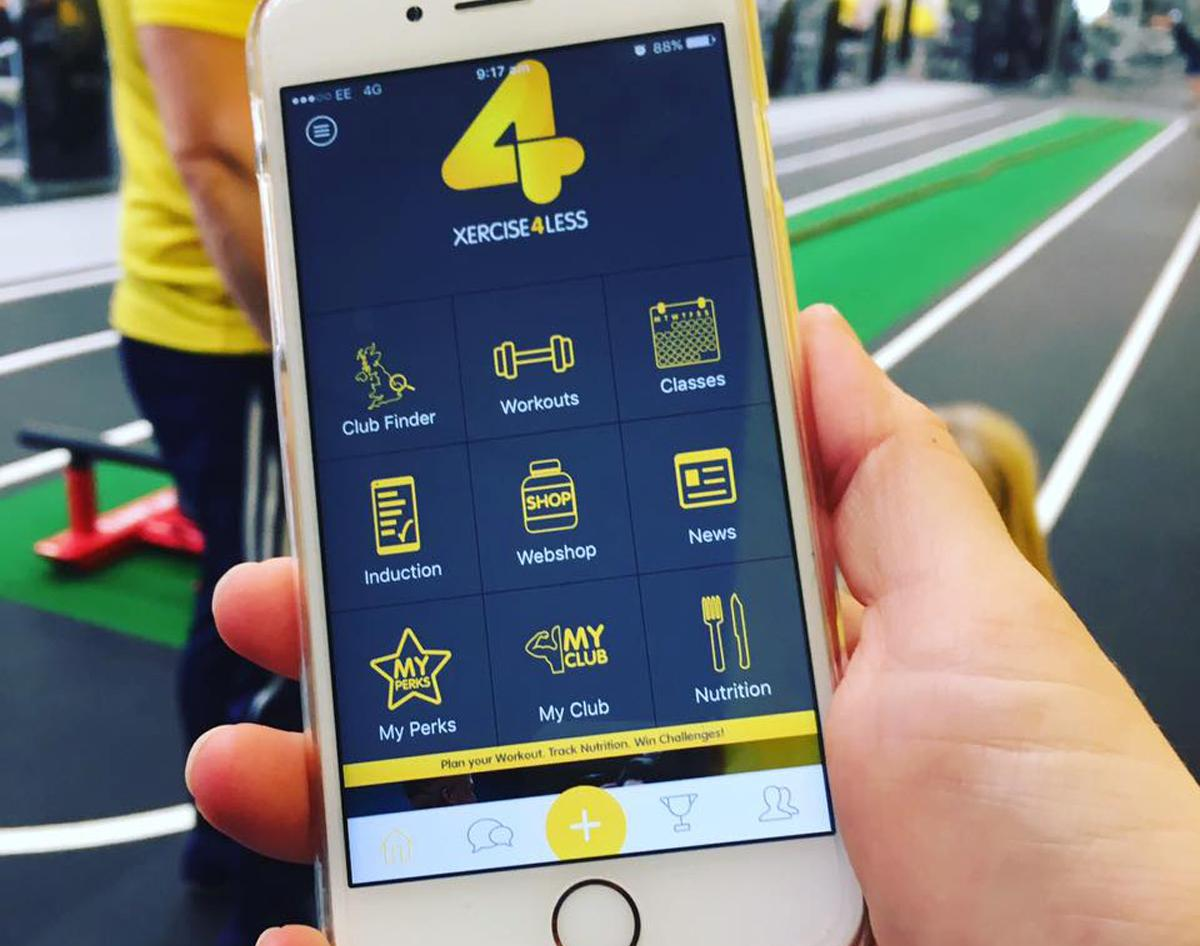 Xercise4Less launches support-based app for its members