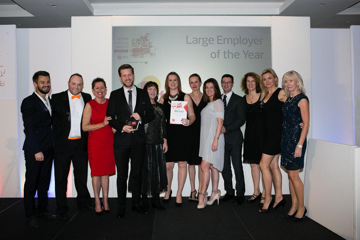 Fusion Lifestyle won last year's Large Employee of the Year award