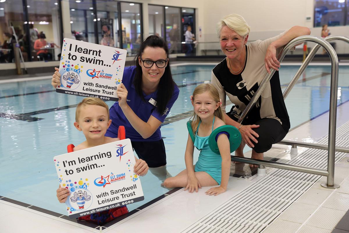 The number of children taking part in free swimming grew by 29 per cent in 2015/16