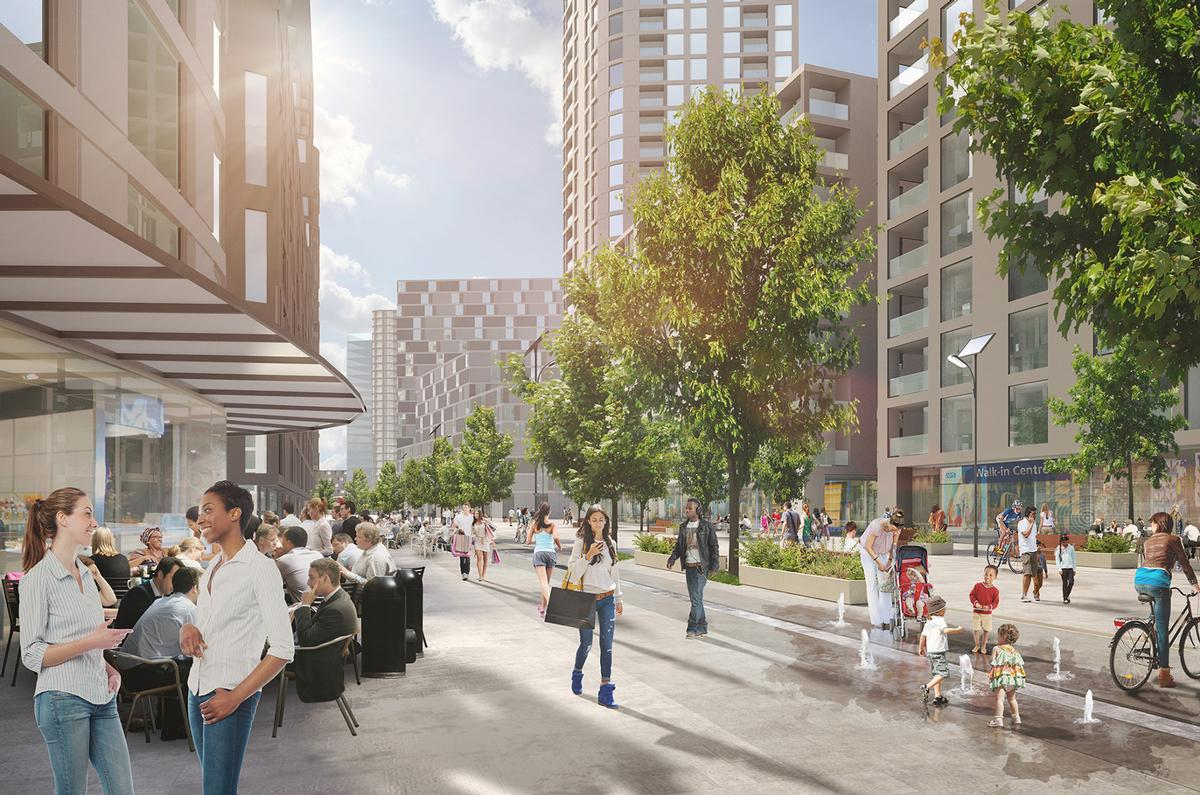 Big names in contention to masterplan London's Old Oak redevelopment