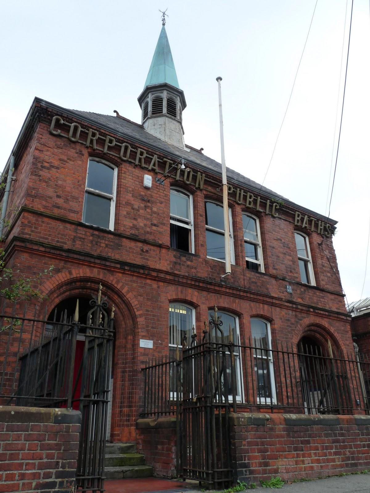 Templemore Baths was the last in a series of public baths opened throughout Belfast in the late 19th century