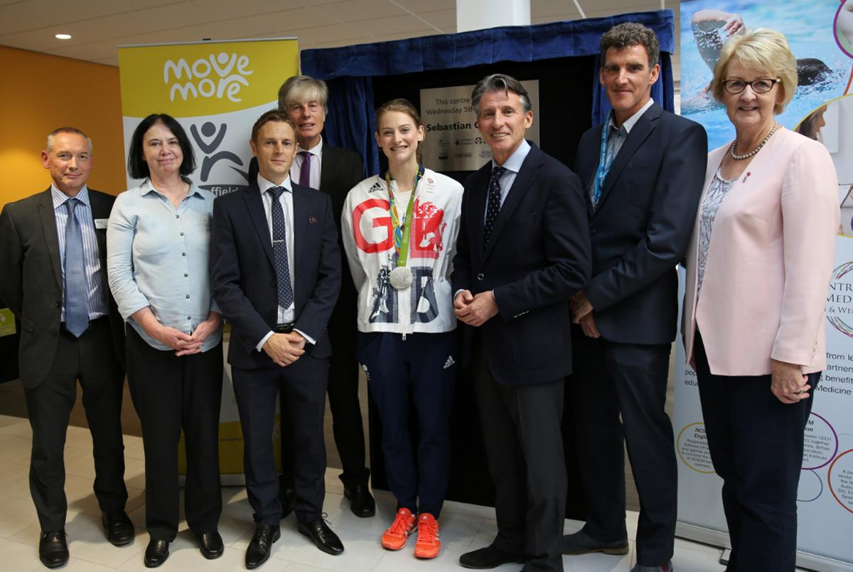 The centre was opened by former London 2012 chief Lord Coe
