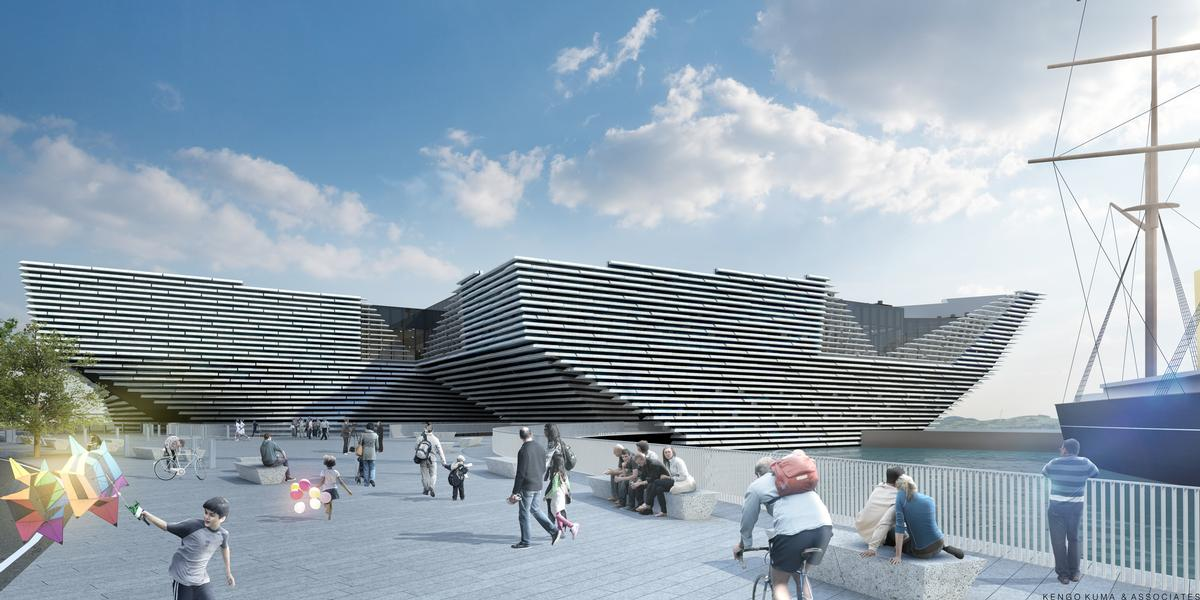 Architect Kengo Kuma said he hoped the museum will 'stimulate architecture and design in Scotland' / Kengo Kuma and Associates