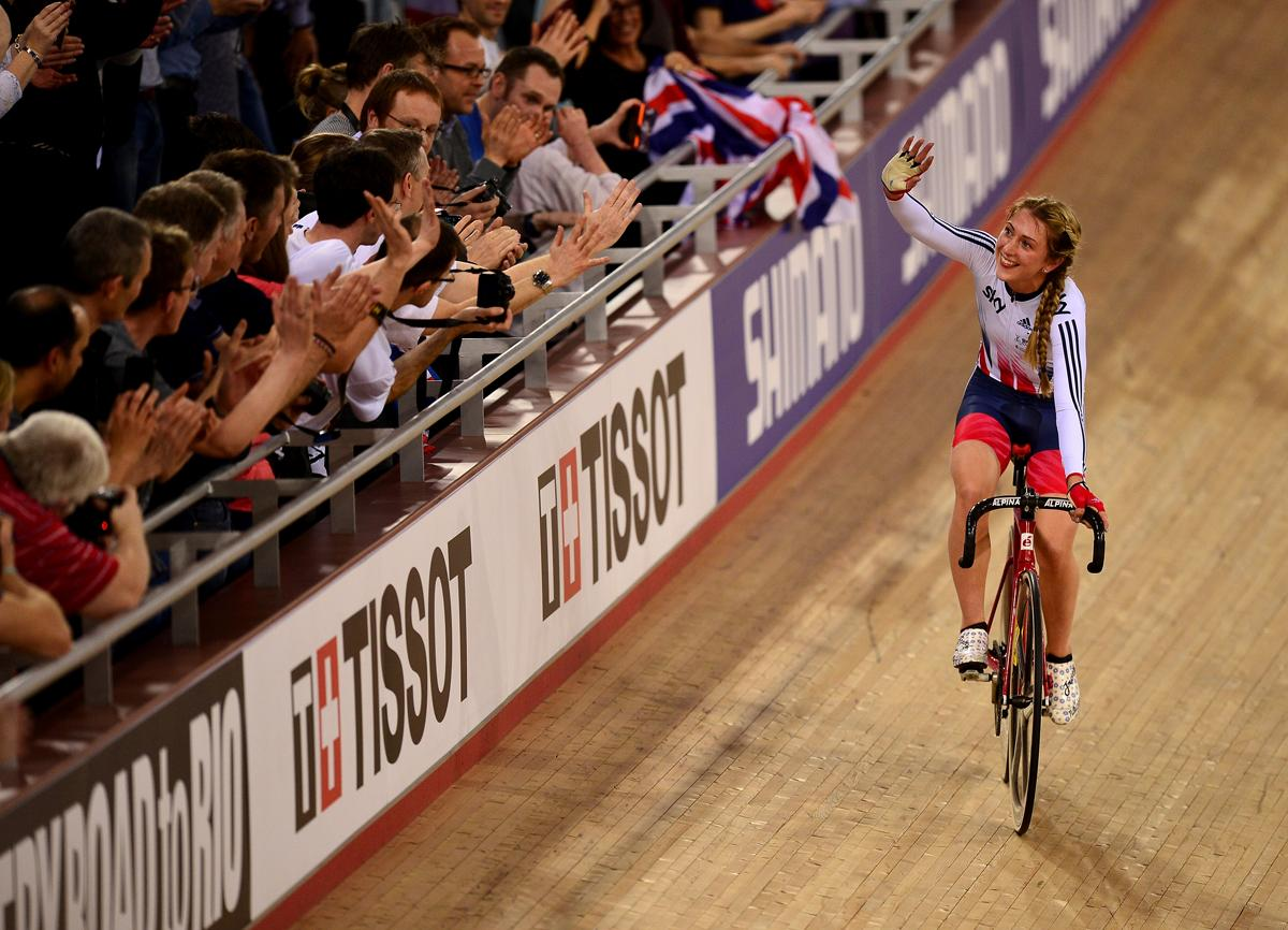 Laura Kenny was one of a number of successful female Team GB athletes