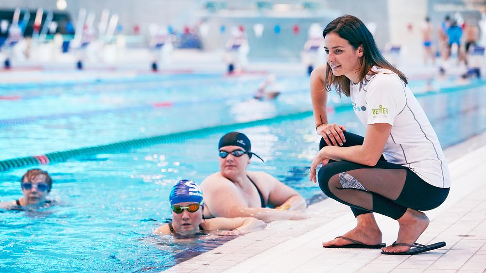 Swim Doctor sessions give adults of any ability the chance to improve their swimming