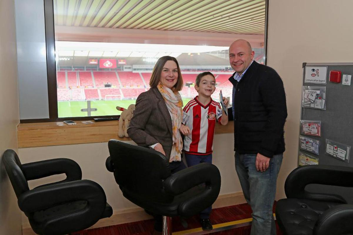 The Shippey Campaign was launched by Kate and Peter Shippey after their autistic son had a bad experience watching Sunderland