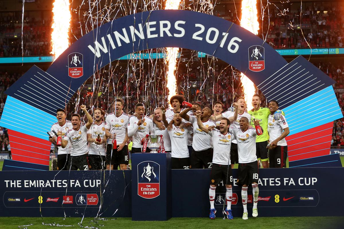 Manchester United won the FA Cup final in May 2016 / Adam Davy/EMPICS Sport