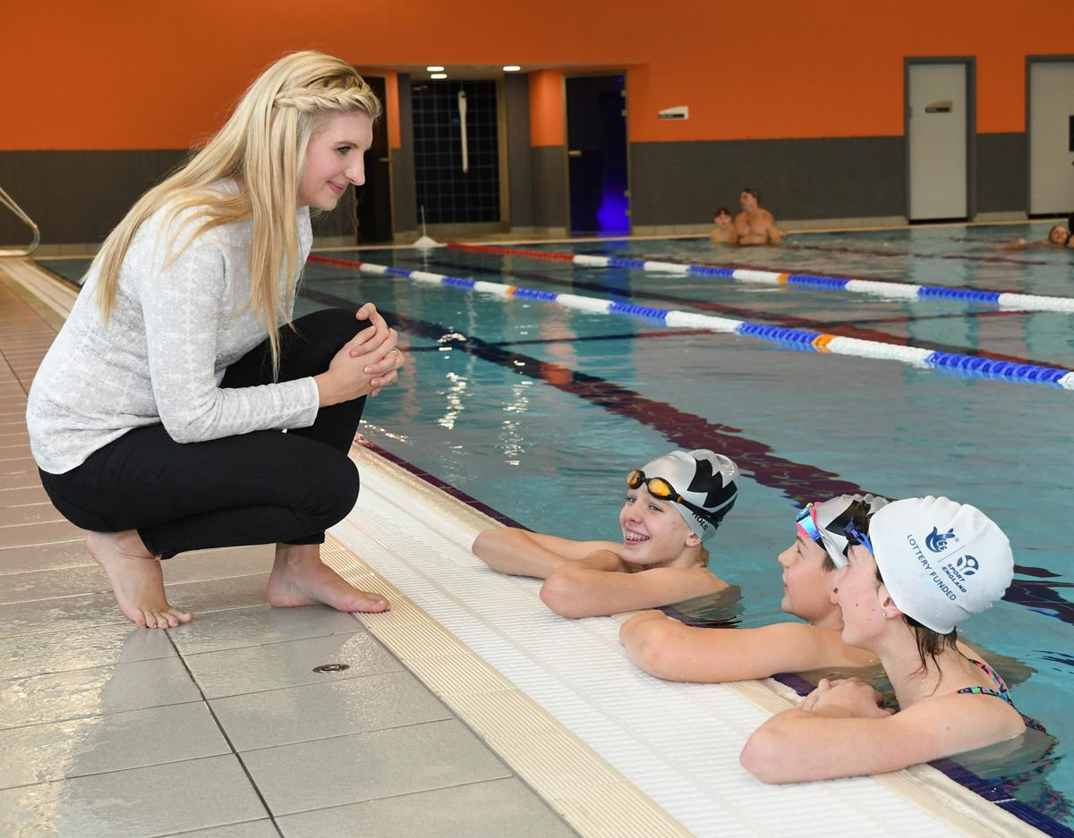 Double Olympic champion Rebecca Adlington described the centre as 'one of the best' in the UK