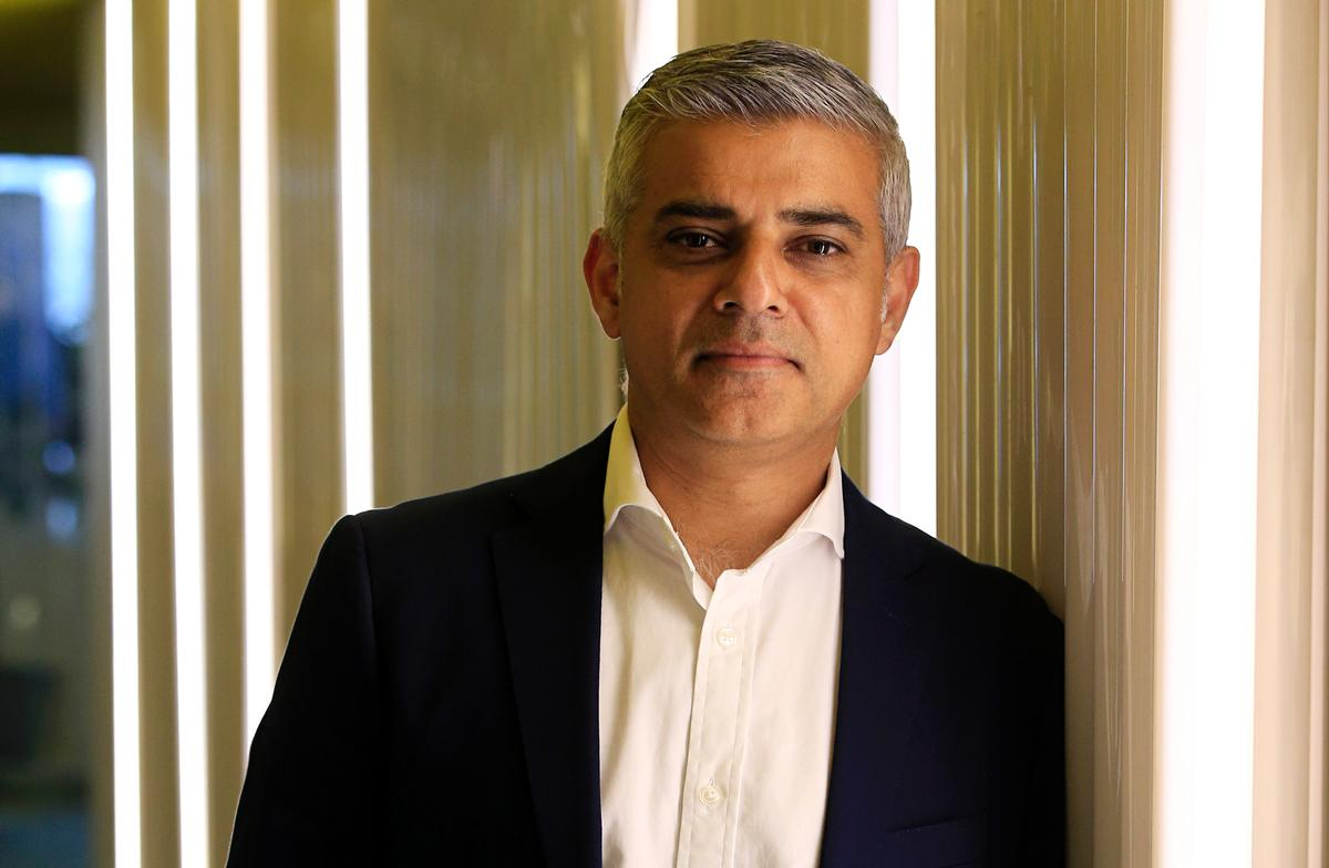 Sadiq Khan said the stadium's finances 'have clearly been left in a total and utter mess by the previous administration at City Hall' / Jonathan Brady/Press Association Images