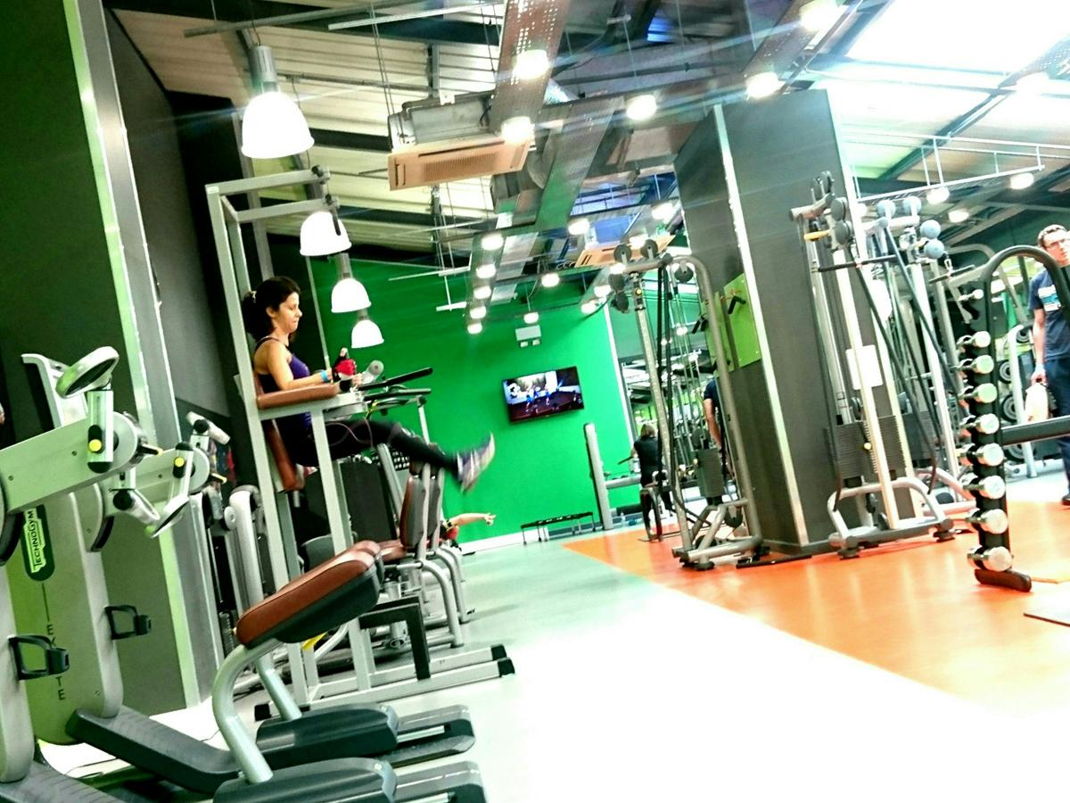 The cv area, kitted with Technogym equipment, has a new layout