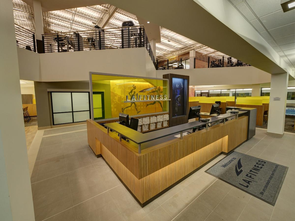 The US$5.7m flagship club is located within a mixed-use retail park in East Memphis