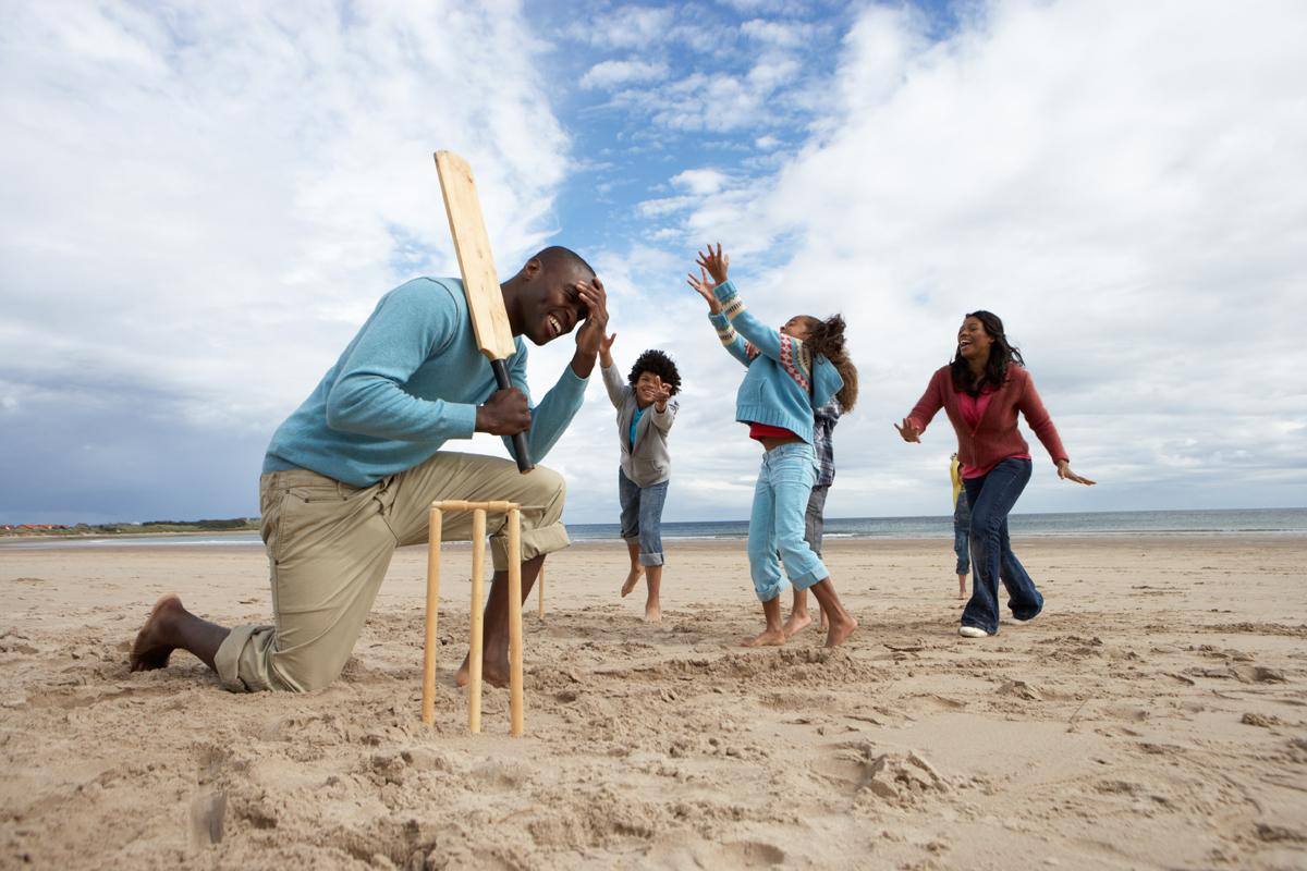 The governing body will develop forms such as beach cricket and indoor cricket / oliveromg/Shutterstock.com